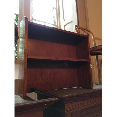 165 - Pine shelves....
