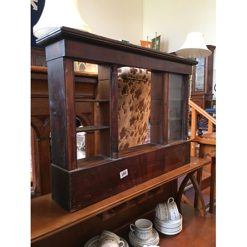 182 - Willaim IV table display cabinet....