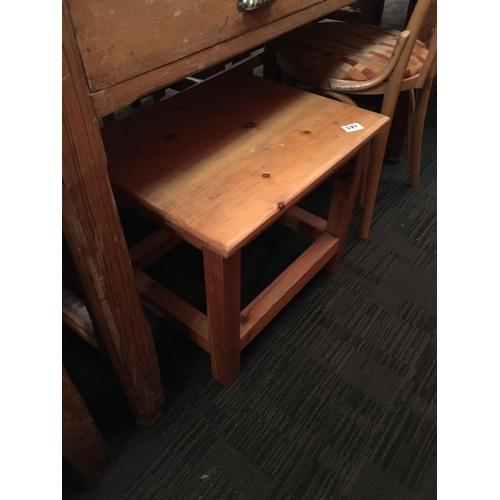 197 - Pine coffee table....