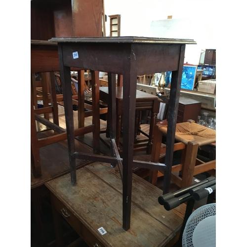 205 - Edwardian mahogany table....