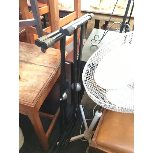 208 - Pair electronic piano stands....