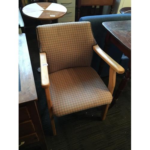 272 - Pine armchair....