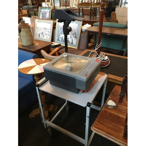 274 - Overhead projector with stand....