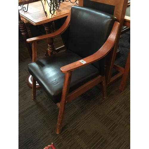 282 - 1970s teak armchair....