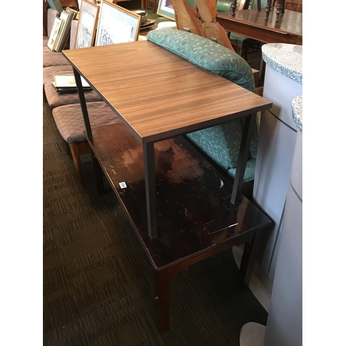 290 - Two coffee tables....