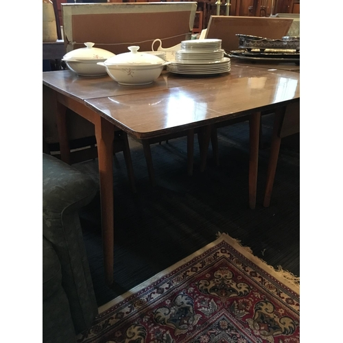 297 - Drop leaf kitchen table....
