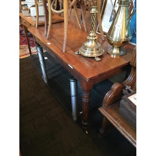 315 - Victorian mahogany centre table....
