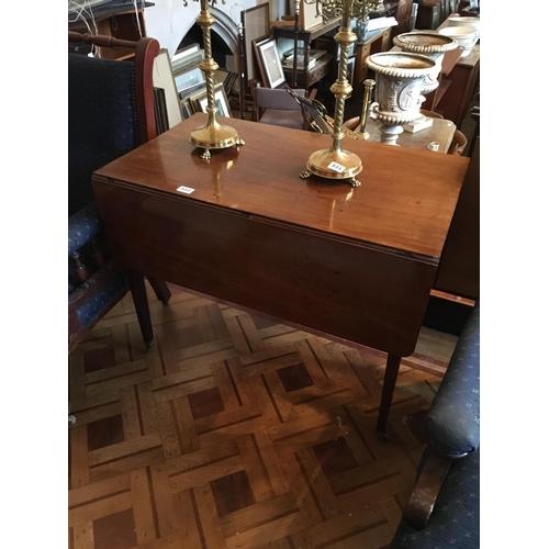 332 - Georgian mahogany Pembroke table....