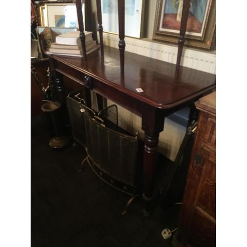 436 - Victorian mahogany side table....