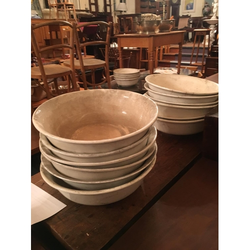 479 - Lot of victorian wash bowls...