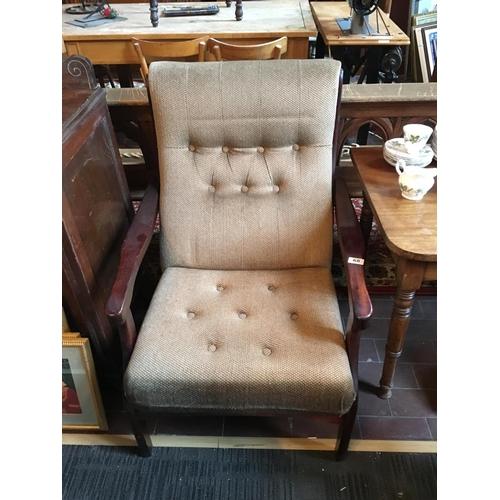 68 - Fireside armchair....