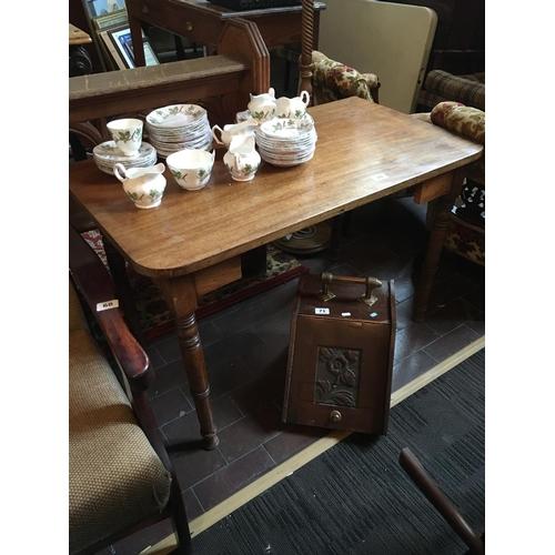 70 - Victorian mahogany side table....