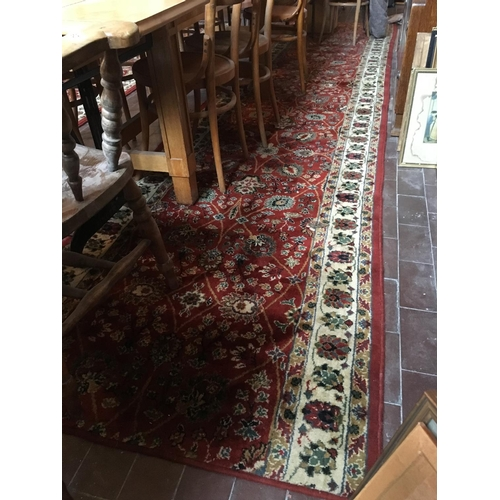 78 - Runner rug 16ft Long....