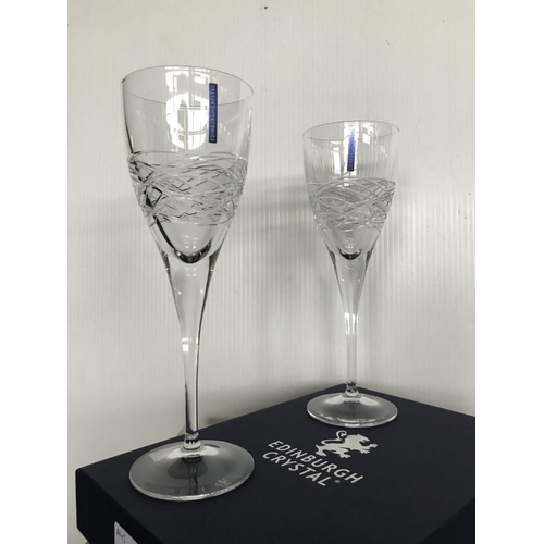 33 - Edinburgh crystal 'ORION' goblets....
