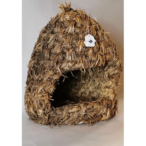 18 - Straw nest....