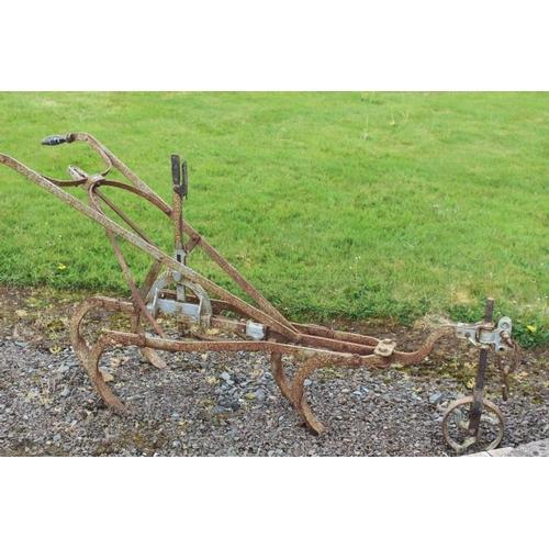 295 - Cast iron Pierce of Wexford grubber {90 cm H x 200 cm W x 60 cm D}....
