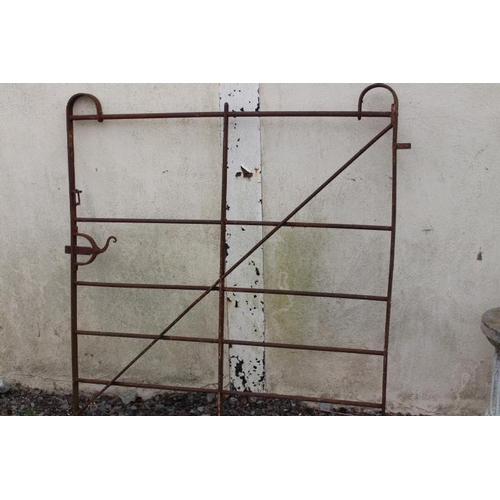 311 - Georgian blacksmiths gate {134 cm H x 122 cm W}....