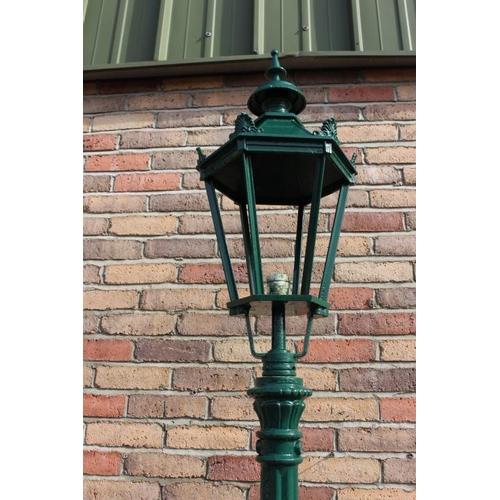 463 - Cast aluminium street light {248 cm H x 30 cm Dia.}....