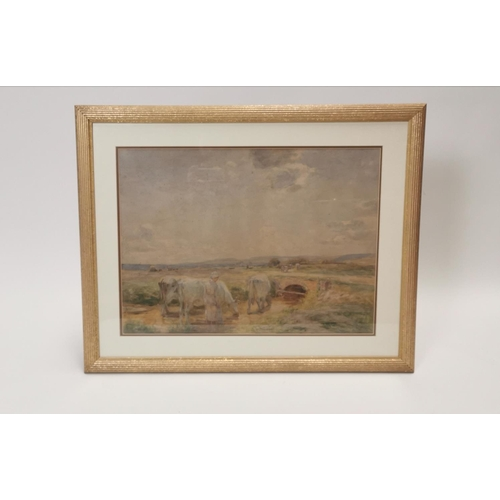 550 - A. Winter Shaw 1910. Early Summer Watercolour, Signed bottom left. Exhibited in The Royal Academy in...