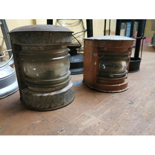 16 - Miscellaneous lot of Ships Lamps....