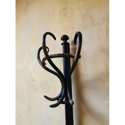 6 - Bentwood coat stand. (140 cm H x 50 cm W}....
