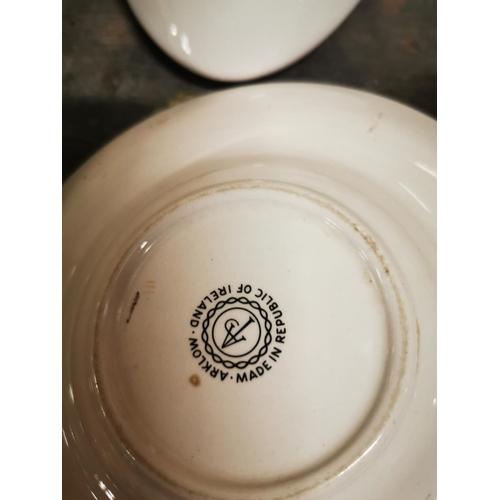 32 - Two Arklow Pottery ashtrays  - John Jameson and Time....