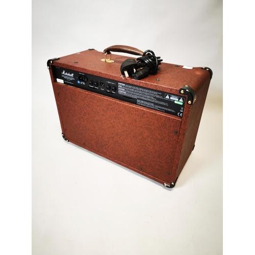 26 - Marshall amp. {42 cm H x 54 cm W x 27 cm D}....