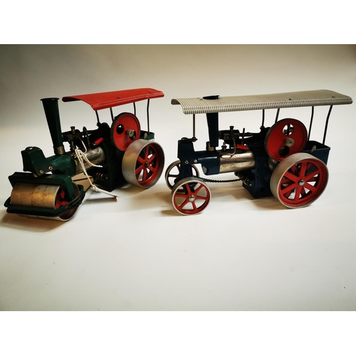 38 - Two early 20th C. metal Steam Engines....