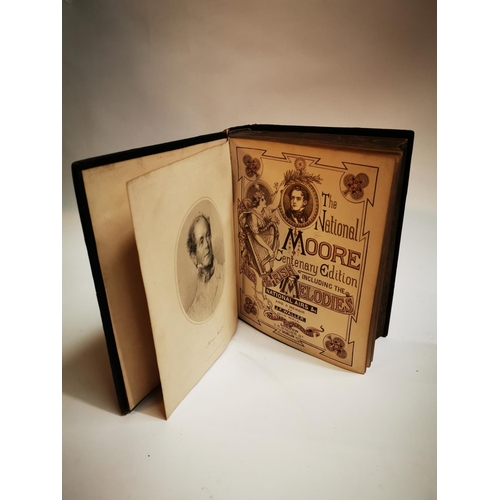 50 - Moore's Works leather bound book - The National Moore Century Edition including The Airs of the Iris...