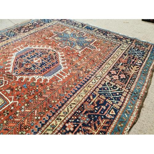 40 - Persian carpet square { 183cm L X 156cm W }.