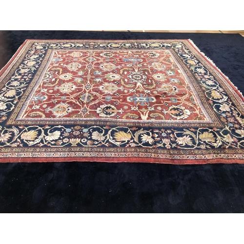 55 - Ziegler very fine Persian design centre rug (never used) 372 x 340