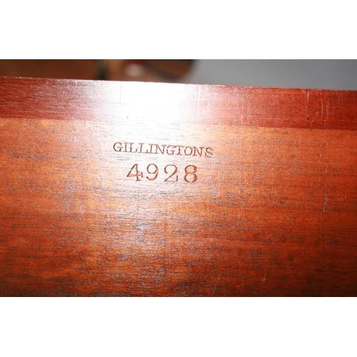 59 - Fine original Regency mahogany commode, Gillington's of Dublin 60 W x 45 H x 37 D