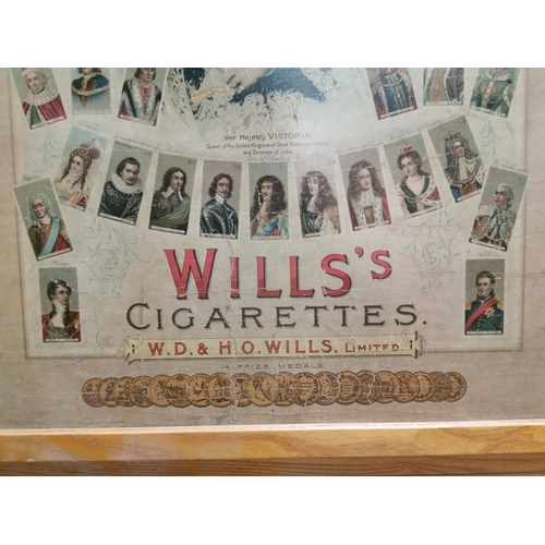33 - Rare Will's cigarettes Diamond Jubilee with portraits of English Sovereigns from the Norman Conquest...