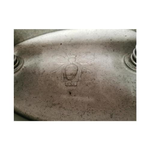 47 - 1950's Aluminium meat press {20cm H x 35cm W x 20cm D}