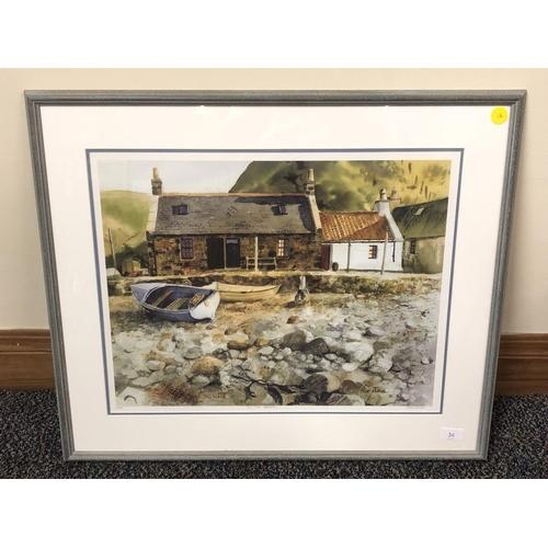 22 - Perri Duncan 51/500 print On the beach...
