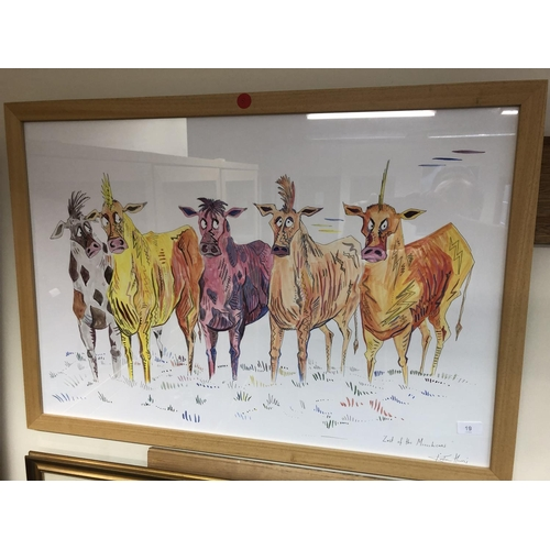 19 - Kirsten Harris large drawing LAST OF THE MOOHECANS...