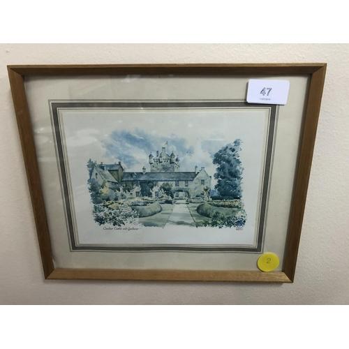 47 - Kenneth Bromley, Cawdor Castle and gardens...