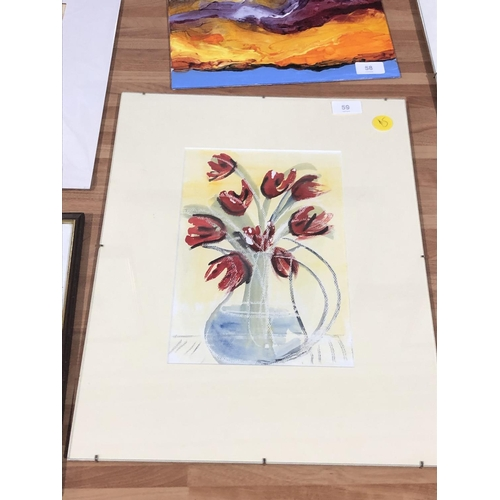 59 - Lesley Tattersall painting...