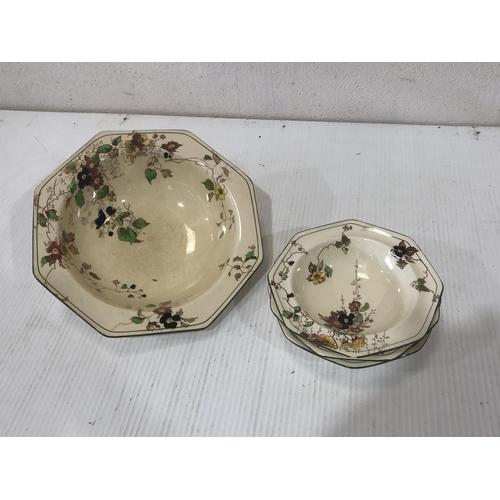58 - box mixed pottery inc royal doulton...