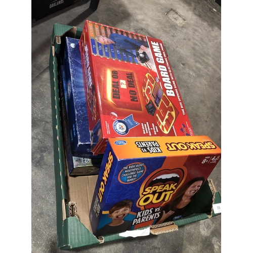 50 - box of games...