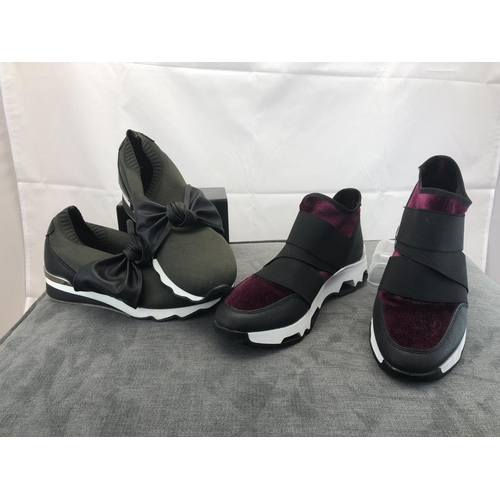 43 - as new ladies trainer shoes...