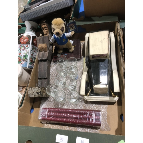 38 - box of mixed collectable items...