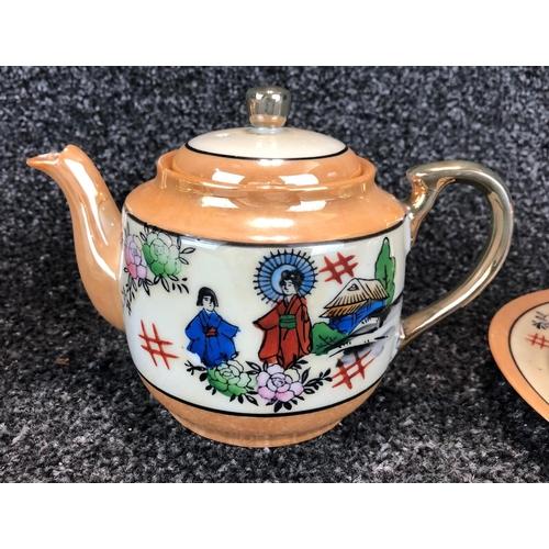 4 - 'Klimax' Japanese tea set for 2 people...