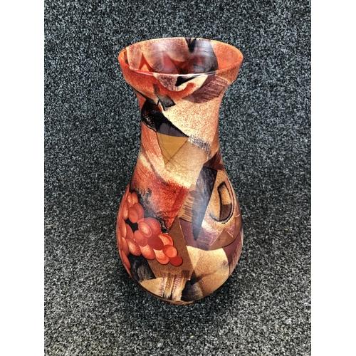 15 - Decorative artistic ceramic vase 34cm tall...