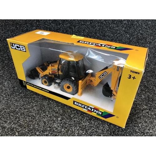 20 - 'Britain's' 1:32 scale JCB 3 x backhoe loader model in original box...