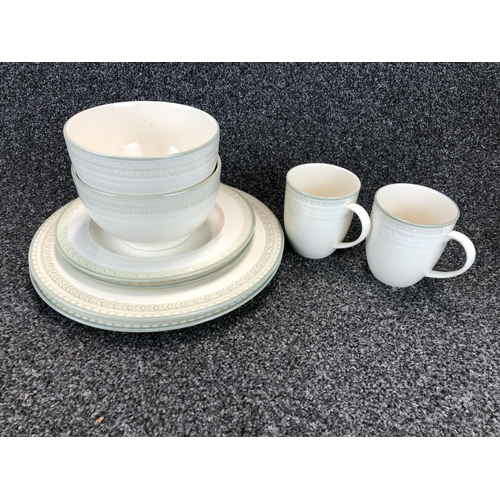 25 - 8 piece dinner set by
