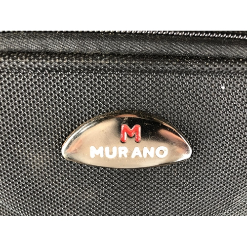 31 - 'Murano' small black suitcase...