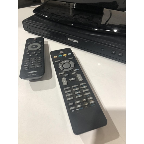 1 - Small Digihome TV with Philips DVD player...