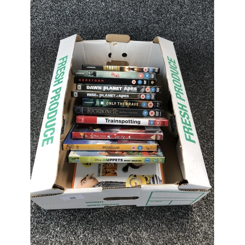 49 - Box of assorted dvds...