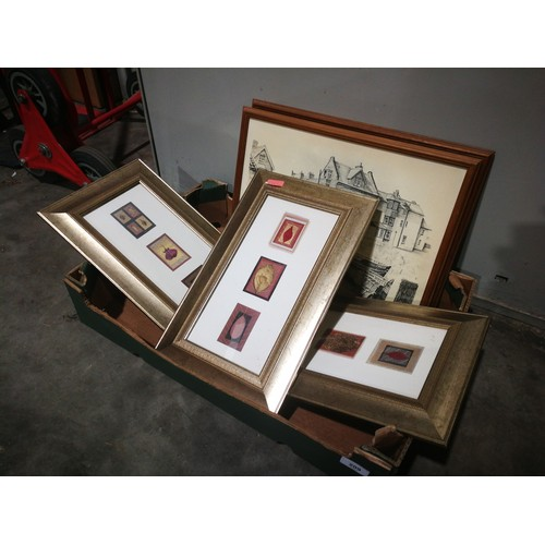 50 - Selection of various pictures and prints in frames
